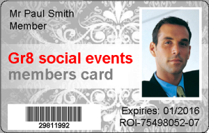 Sample card 2- gr8 events