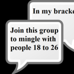 Group logo of 18 to 25 Mingle
